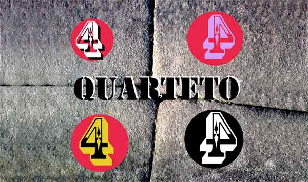 Quarteto 4444 – O que é que se passa comigo @ Pensao Amor – 07-03-2012